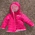 The North Face Jackets & Coats | Infant North Face Reversible Winter Jacket | Color: Pink | Size: 3-6mb