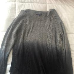 American Eagle Outfitters Sweaters   American Eagle Ombr Navy Blue And Grey Sweater   Color: Blue/Gray   Size: M