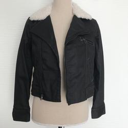 Levi's Jackets & Coats   New Levis Black Jean Jacket With Fur Xs   Color: Black   Size: Xs