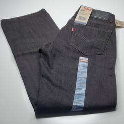 Levi's Jeans | New 27 X 29 Levi'S 505 Straight Black Jeans Nwt | Color: Black | Size: 27 X 29 27x29 New With Tags Levi'S 505