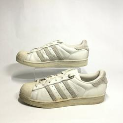 Adidas Shoes | Adidas Superstar Sneakers Casual Shoes Low Top Lac | Color: White | Size: 7.5