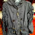Burberry Jackets & Coats | Kids Authentic Burberry Jacket Windbreaker | Color: Black | Size: 6 Kids