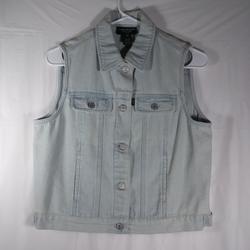 Ralph Lauren Jackets & Coats   Lauren Jeans Co Size 10p Vest Jean Jacket   Color: Blue   Size: 10p