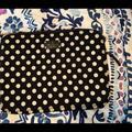 Kate Spade Bags | Kate Spade Laptop Sleeve Bag | Color: Black/White | Size: Os