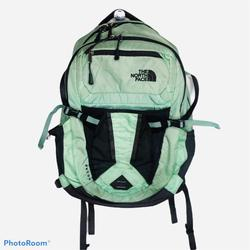 The North Face Bags   North Face Recon Backpack Laptop Mint Green Bag   Color: Black/Green   Size: Os
