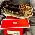 Coach Shoes | Coach Richelle Boat Shoe Size 8.5 With Box! | Color: Brown/Tan | Size: 8.5