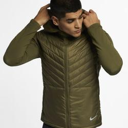 Nike Jackets & Coats | Nike Men'S Aerolayer Thermore Insulated Vest | Color: Gray/Green | Size: S