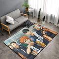 Amaberl Japanese Anime Tobio-Kageyama-Kenma Kozume Rugs,Area Carpet Kids Playing Mat for Bedroom Livingroom Kichten Bathroom Decorate Modern Carpet Soft Fluffy Non-Slip 6039in