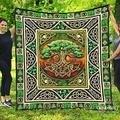 Tree of Life Irish Quilt - Beautiful Photos Quilt Quilt Patterns All-Season Quilts Comforters with Cotton - King Queen Twin Size Beach Trips, Gifts Quilt