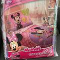Disney Bedding | Minnie Mouse 4 Pc Toddler Bed Set Quilt Sheet New | Color: Pink/Purple | Size: Toddler