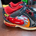 Disney Shoes | Disney'S Cars Lightning Mcqueen Toddler Shoes 9.5 | Color: Black/Red | Size: 9.5b