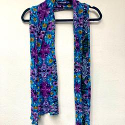 American Eagle Outfitters Accessories   Kewl Tone Multicolored Scarf   Color: Blue/Purple   Size: Os
