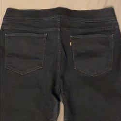 Levi's Jeans   Levis Super Dark Denim Jegging Jeans   Color: Blue   Size: 14
