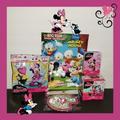 Disney Toys | Nwt Disney Minnie Mouse (5) Piece Bundle! | Color: Pink/Purple | Size: Unisex