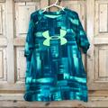 Under Armour Shirts & Tops | Boy'S Green Under Armour Yl Large | Color: Black/Green | Size: Lb