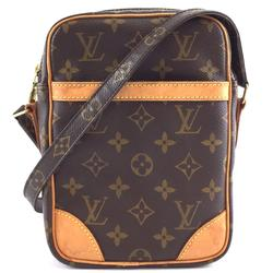 Louis Vuitton Bags | Messenger Danube Long Canvas Cross Body Bag | Color: Brown | Size: 6l X 2w X 8.5h