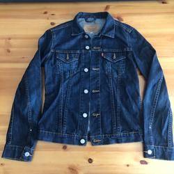 Levi's Jackets & Coats | Levi'S Denim Jean Jacket Dark Wash Small | Color: Blue | Size: S