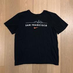 Nike Shirts   Nike San Francisco Shirt   Color: Black/Orange   Size: Xl