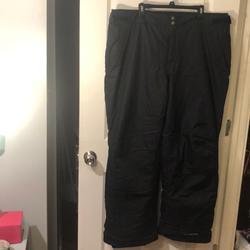 Columbia Jackets & Coats   Columbia Xxl Black Snowpants With Omni-Tech Lining   Color: Black   Size: Xxl