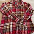 Columbia Shirts | Columbia Xxl Mens Flannel Button Down Shirt | Color: Red | Size: Xxl