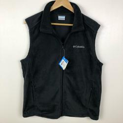 Columbia Jackets & Coats   Columbia Men'S Full Zip Fleece Outdoor Casual Vest   Color: Gray   Size: M
