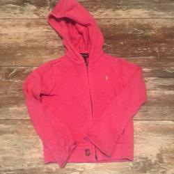 Polo By Ralph Lauren Jackets & Coats | Girls Pink Polo Sweater | Color: Pink | Size: 5g