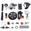 """Electric Bicycle Mid-Drive Motor Kit Brushes Motor Mountain Bike Road Bike Normal Bike Conversion Motor Kit DIY Refit E-Bike Conversion Full Set for 16""""-26"""" Bike (450W 48V)"""