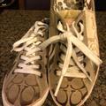 Coach Shoes | Coach Tonya - Tennis Shoes Size 6.5m | Color: Brown/Tan | Size: 6.5