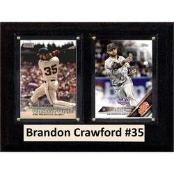 Brandon Crawford San Francisco Giants 6'' x 8'' Plaque