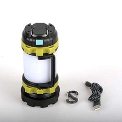 XLENTGEN LED Camping Lantern USB Rechargeable Camp Lantern, 500 lumens High Power, 5200mAh Power Bank, IPX4 Waterproof, 6 Mode, Two Way Hook of Hanging, Perfect for Outdoor and Home(Build-in Battery)