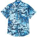 Reel Legends Mens Short Sleeve Saltwater Granite Shirt