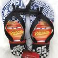 Disney Shoes | Disney Cars 3 Flip Flop Sz 23 Youth Shoes | Color: Blue/Red | Size: 2b