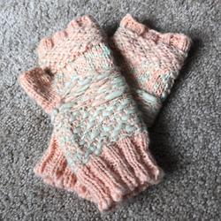 Free People Accessories | Free People Mittens | Color: Orange | Size: Os