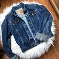 Levi's Jackets & Coats   Faux Fur Levis Jacket   Color: Blue/Gray   Size: L