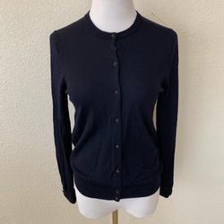 J. Crew Sweaters | J. Crew Womens Wool Cardigan Sweater Lightweight | Color: Blue | Size: M