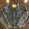 Levi's Jackets & Coats | Levi Strauss Denim Jacket Womens W Harley Patches | Color: Blue | Size: M