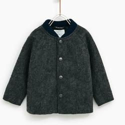 Zara Jackets & Coats | Bomber Jacket With Faux Fur Lining | Color: Gray | Size: 4tb