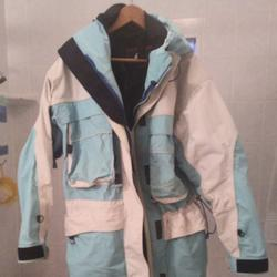 Nike Jackets & Coats | Hot Snowboard Jacket. This Is A Great Jacket | Color: Blue/White | Size: L