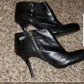 Nine West Shoes | 9 West Shoes Heels Black Sexy Fancy | Color: Black | Size: 10