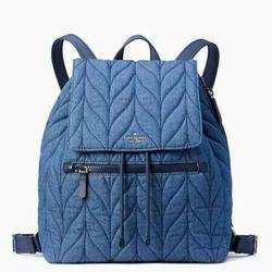 Kate Spade Bags | New Kate Spade Lightweight Quilted Backpack Bag | Color: Blue | Size: Os