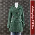 Anthropologie Jackets & Coats   2006 Anthro Woven Cotton Trench By Ett Twa   Color: Green   Size: 8
