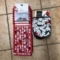 Disney Kitchen | New Minnie Mouse Dish Drying Rack Mitts | Color: Black/Red | Size: Os