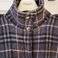 Burberry Jackets & Coats | Burberry Classic Gray Plaid Long Coat | Color: Black/Gray | Size: 6