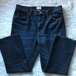 J. Crew Jeans | J Crew | Billie Demi Boot Crop Denim Jeans | Color: Blue | Size: 32