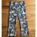 Anthropologie Pants & Jumpsuits | Nanette Lepore Tapestry Print Trousers | Color: Blue/White | Size: 6