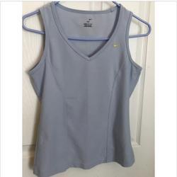 Nike Tops   Nike Dri-Fit Tank Athletic Top Light Blue Medium   Color: Blue   Size: M