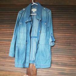 Michael Kors Jackets & Coats   Michael Kors Jean Jacket, Size M. Nwot   Color: Blue   Size: M