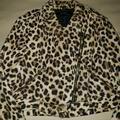 Zara Jackets & Coats   Leopard Print Jacket   Color: Brown/Tan   Size: L