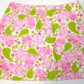Lilly Pulitzer Skirts   Lilly Pulitzer Girls Cotton Skort Size 14 Girls   Color: Green/Pink   Size: 14 Girls
