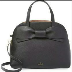 Kate Spade Bags | Kate Spade Lottie Olive Drive Satchel Hand | Color: Black | Size: 11.3 X 9 X 5.1 W 4.75 Handle. No Long Strap